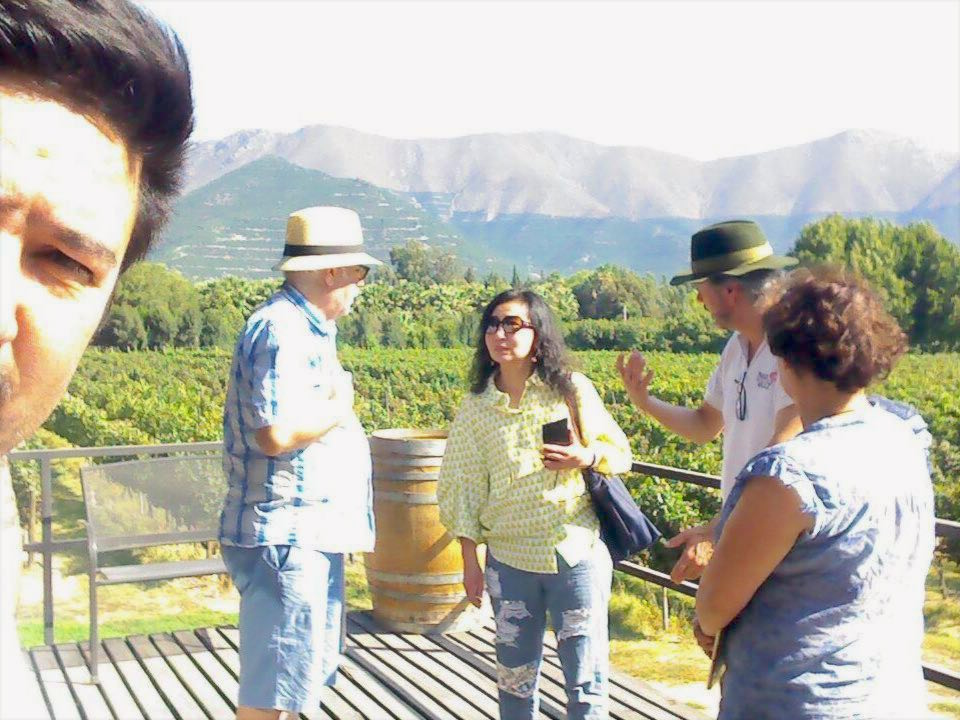 Aconcagua wine lovers tour