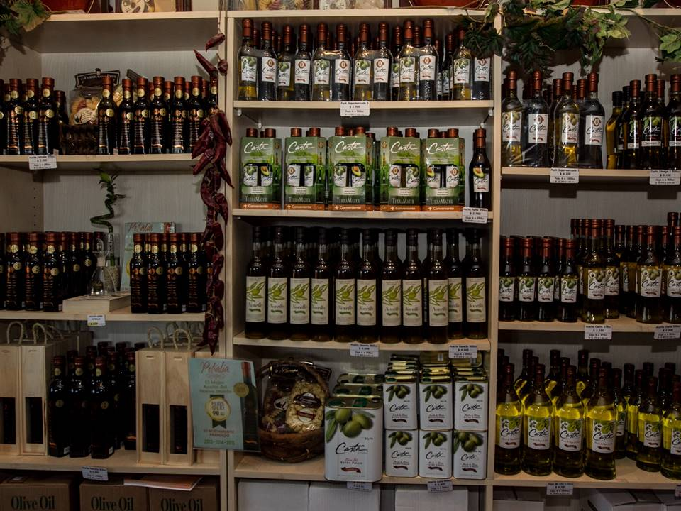 wine and delis shop in TerraMater