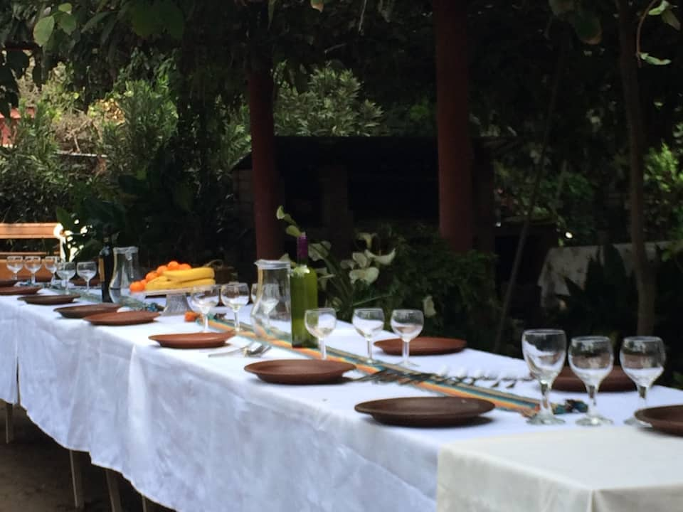 country lunch in Isla de Maipo