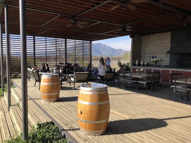 Winery in Isla de Maipo