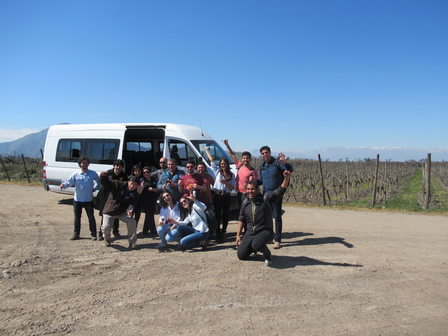 Santiago Wine Bus