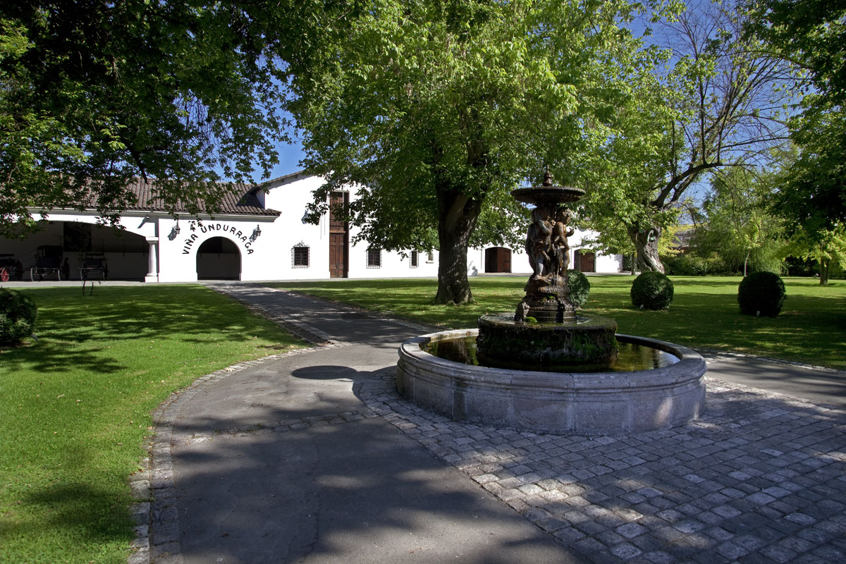 Old manor of Viña Undurraga